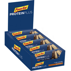 PowerBar ProteinPlus 33% Bar Sacoche 10x90g, Chocolate-Peanut